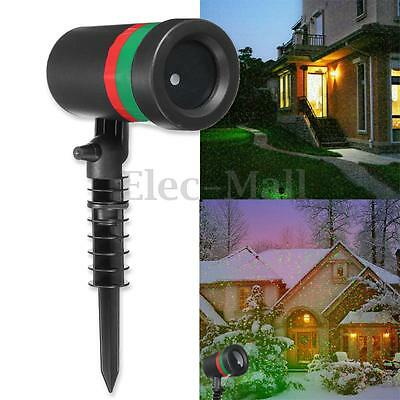 R&G Waterproof LED Laser Outdoor Landscape Garden Lights Projector Moving Lamp