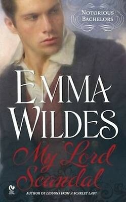 My Lord Scandal by Emma Wildes Mass Market Paperback Book (English)