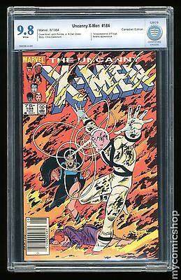 Uncanny X-Men (1963) Canadian Price Variant #184 CBCS 9.8