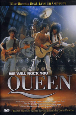 QUEEN / Live concert in Montreal (1981) (DVD,All,Sealed,New)