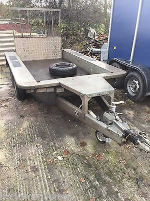 Used Ifor Williams GP84 Twin Axle Plant Trailer