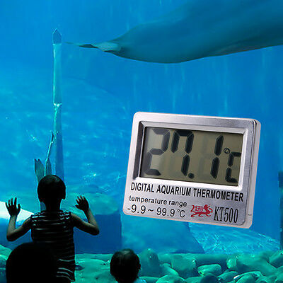 Digital LCD Aquarium Thermometer Temperature Gauge Meter for Fish Tank Water