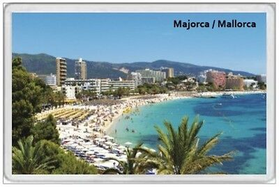 Majorca - Jumbo Fridge Magnet - Mallorca Spain Balearic Islands Palma Holiday 2