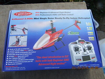 MINI TWISTER SPORT MODEL RC HELICOPTER 4 CHANNEL 2.4GHz