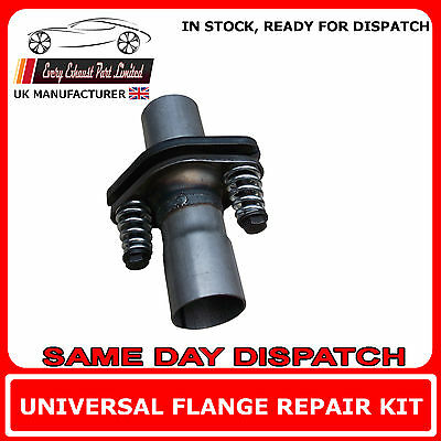 Universal Repair Replacement Flange Kit For Back Box Exhaust