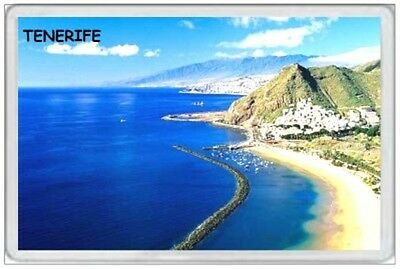 Tenerife - Jumbo Fridge Magnet  Canary Islands Spain Las Teresitas Beach  (3)