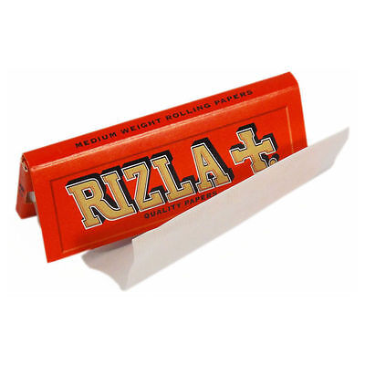 RIZLA Regular Genuine RED Cigarette Rolling Papers ORIGINAL HOT SELLING