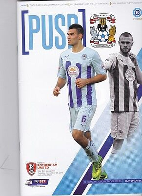 Coventry City 2013-2014 Home Programmes