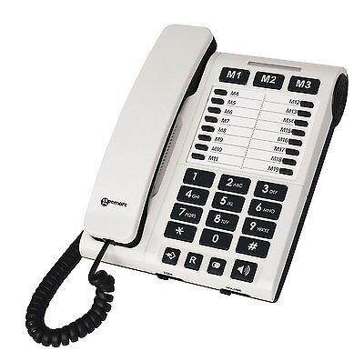 New Geemarc Clearsound CL1200 Amplified Loud Phone with Volume &Tone Control