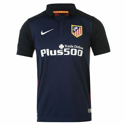 Men's NIKE Athletico Madrid 2015-2016 Away Jersey - Size Large - BNWT