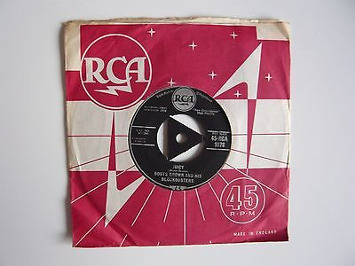 """Boots Brown And His Blockbusters Cerveza / Juicy 1958 RCA Tri-Centre 7"""" Single"""
