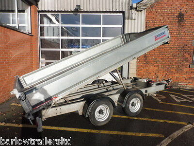 Used Nugent Tipper Twin Axle Tipper Trailer