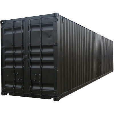 40 fuss stahl container high cube 9 39 6 39 39 hoch. Black Bedroom Furniture Sets. Home Design Ideas