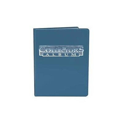 Blue Collector Card Album 4 Pocket Portfolio A5 Ultra Pro NEW