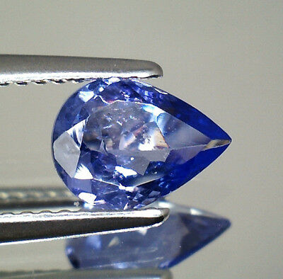 Brillante Tanzanite Naturale Intrattata  In Blister Ct. 0,95 Vs  Goccia