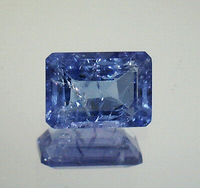 Brillante Tanzanite Naturale Intrattata  In Blister Ct. 1,55 Si Vs  Ottagono