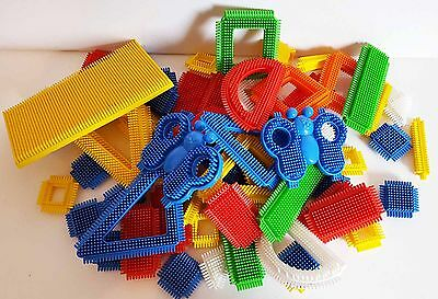STICKLEBRICKS 70 Pieces VINTAGE STYLE  Play Construction TOY