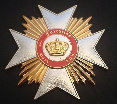 Museum Quality German Wurttemberg Grand Cross Star Order Of The Crown 1818
