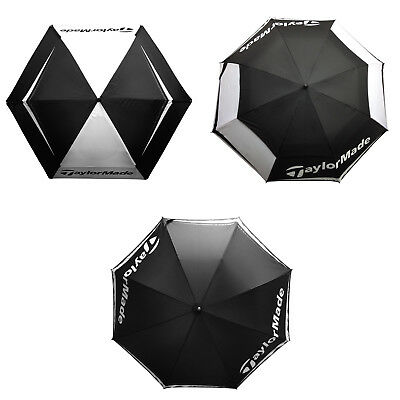 2017 Taylormade Golf Umbrella - New Rain Brolly Lightweight Select Canopy Size