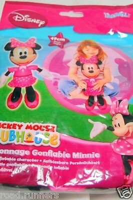 Minnie Mouse Disney Pink Inflatable Character 49cm Tall NEW