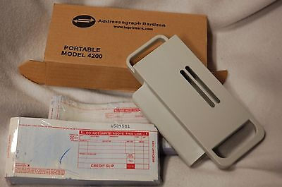 addressograph bartizan portable card copy model 4200