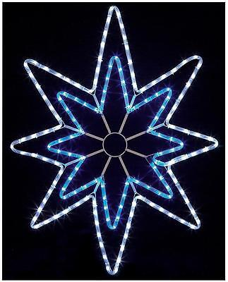 95cm LED Star Rope Light Xmas Lights Indoor Outdoor Christmas Decoration
