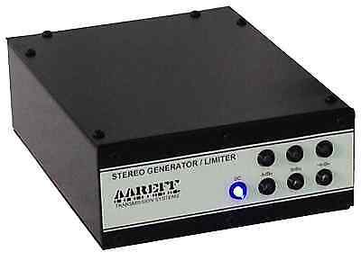 Audio Fm Stereo Compressor Agc And Peak Limiter 12-15V Dc / 90-260V Ac (Alsbp)