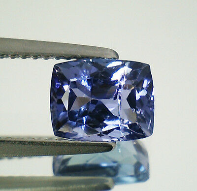 Eccellente Tanzanite Naturale Intrattata  In Blister Ct. 2,01 Vvs Cuscino