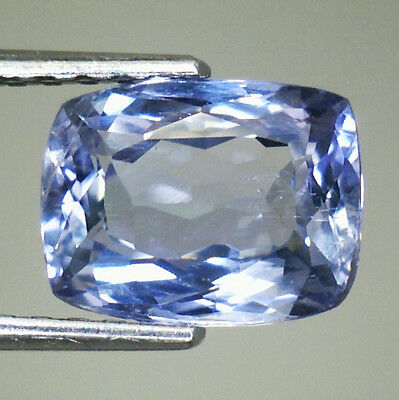 Eccezionale Tanzanite Naturale  In Blister  Ct.1,41  Cuscino  Vs  Vvs  I