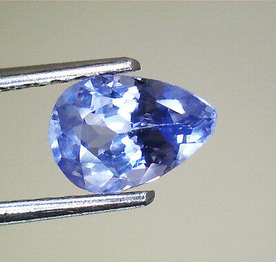 Brillante Tanzanite Goccia  Naturale Intrattata  Ct.0,44 Vs Vvs