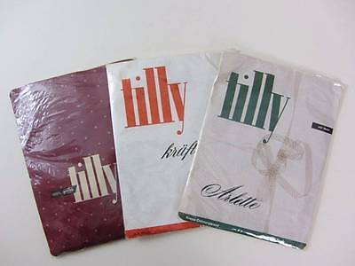 Choice of 3 vintage fully fashioned stockings seamed 60's new