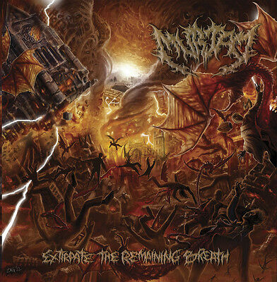 MURTAD – Extirpate The Remaining Breath  CD (Permeated, 2016) *Brutal Death
