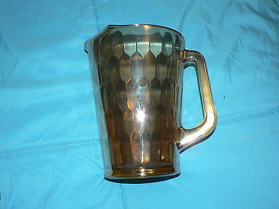 Vintage Antique Early Clear Pitcher Riihimaki Finland Fine Art Glass Beautiful
