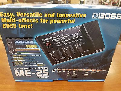 New - BOSS ME-25 Guitar Multiple Effects COSM FX Pedal