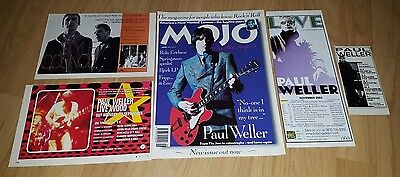 Paul Weller/the Jam/style Council Magazine Clippings/cuttings