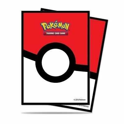 ULTRA PRO Pokeball Deck Card Standard Protector Sleeves - 65ct stock #85120 MTG