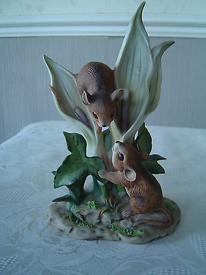 Harvest Mice On A Lilly - The Chancery Collection By Maruri