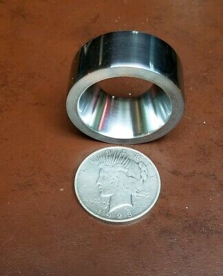 """Coin Ring Reduction Die For Silver Dollar  Size (1.5"""") Coins Machined  @ 20°"""