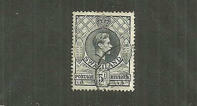 Swaziland Stamp #36 (Used) From 1938.