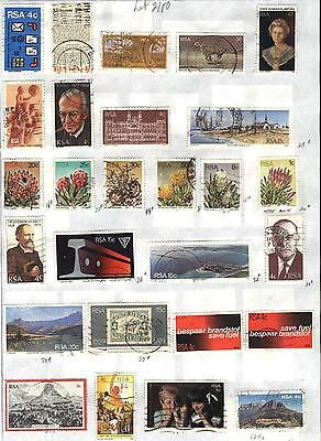 South Africa - 27 stamps mixed - Years 1975 to 1979