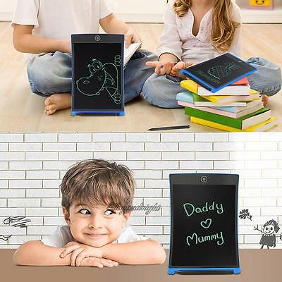 """8.5""""/12''LCD Writing Tablet Pad for Boogie Board Jot Style eWriter Boards Stylus"""