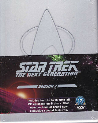 Star Trek: The Next Generation   Season 2 - DVD - Brand New & Sealed