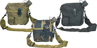 Sacoche Housse Gourde Militaire Camping