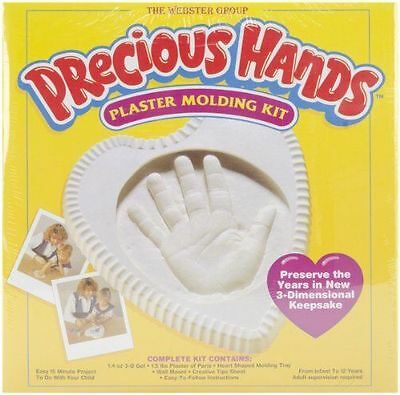 Precious Hands Plaster Molding Kit OPEN BOX BUT NEW NEVER USED