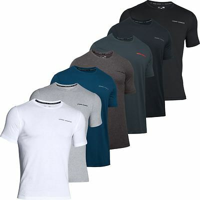 Under Armour 2018 Charged Cotton SS T-Shirt Mens Microthread Training Sports Tee