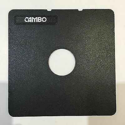 Cambo Monorail 5x4 Lens Board - flat, Copal 1