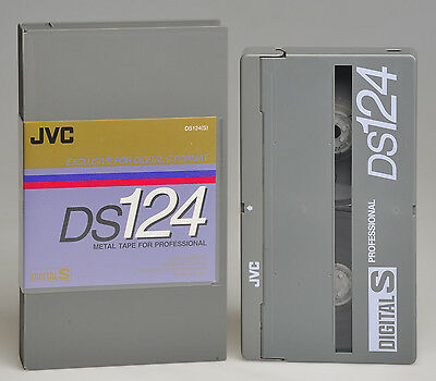 Jvc Videocassetta Digital-S D9 - Ds-124 Nuova Cellophanata