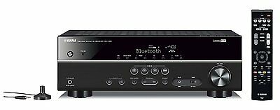 Yamaha RXV381 AV Receiver with 5.1 Channel and 500W in Black