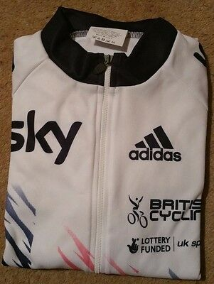 Great Britain / Sky Cycling L/S Road Jersey - Rider Issue