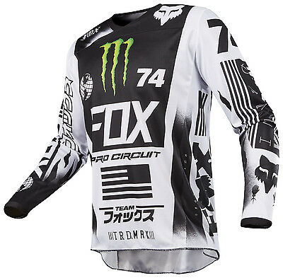 New 2017 Fox Racing 180 Special Edition Monster Pro Circuit Jersey All Sizes